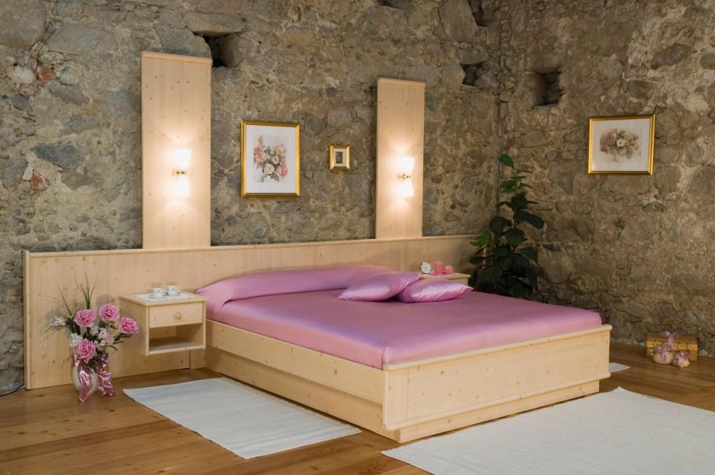 Tischlerei CNC Innenausbau Massivholzmöbel Bett Fichte