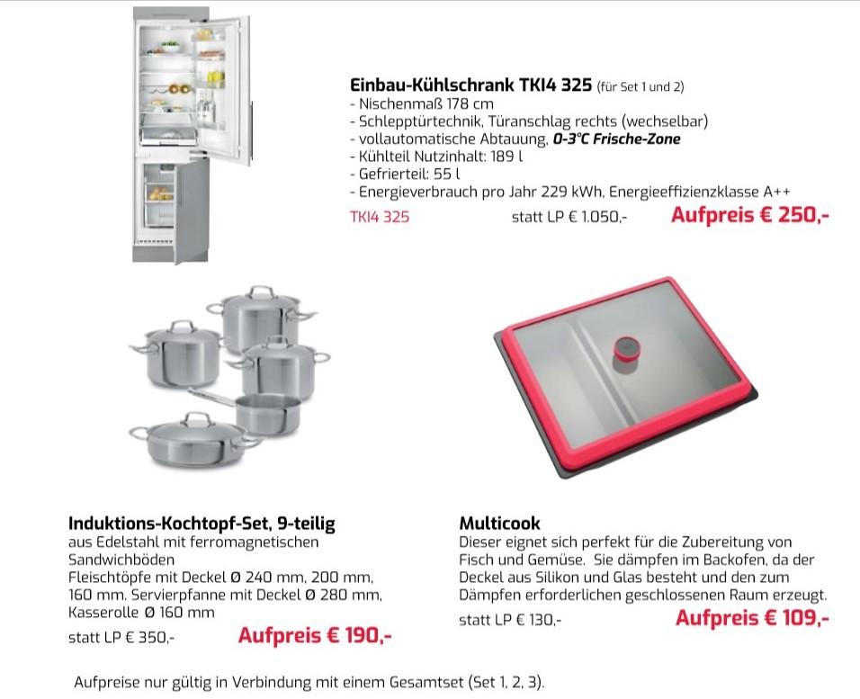 Möbelproduktion Elektrogeräte Küchengeräte Einrichtung Aktionen