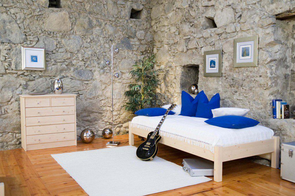 Tischlerei Kinder Haustier Möbel Jugendzimmer Rahmenbett Fichte Massivholz