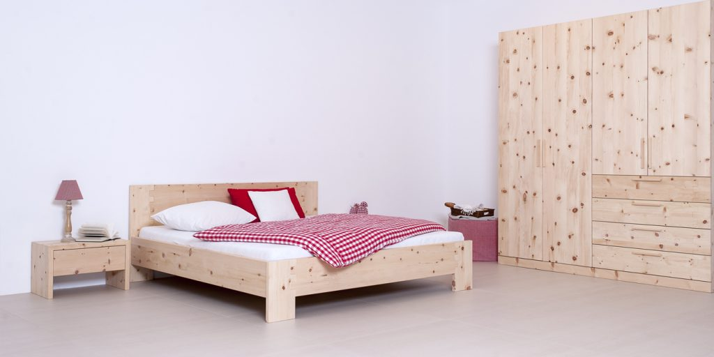 Tischlerei Kinder Haustier Möbel Baby Wiege Bett Zirbe Vollholz