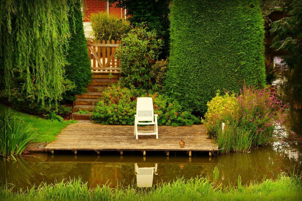 Terrasse Steg Holzbau Tischlerei Zimmerei