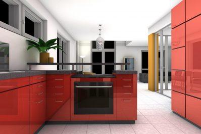 Altbausanierung Badsanierung Küche Schrankraum Interior Design Rotkäppchen