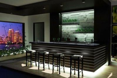 Altbausanierung Badsanierung Küche Schrankraum Interior Design Bar
