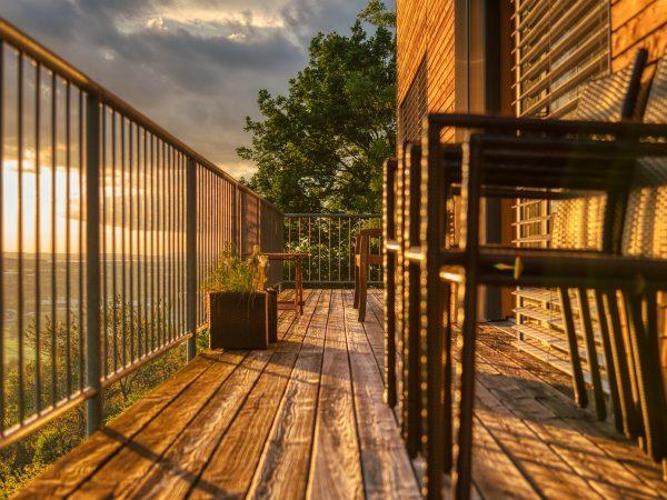 Zimmerei Holzbau Balkon Terrasse Holz Alu