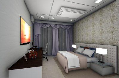 Altbausanierung Badsanierung Küche Schrankraum Interior Design Schlafzimmer