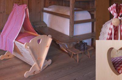 Tischlerei Kinder Haustier Möbel Baby Wiege Traum Schlaf Tradition Junge