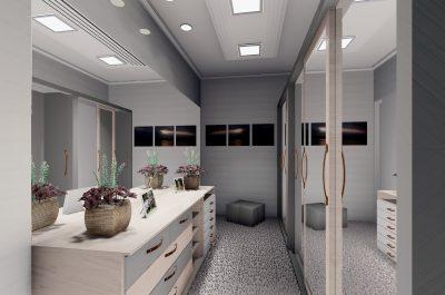 Altbausanierung Badsanierung Küche Schrankraum Architektur